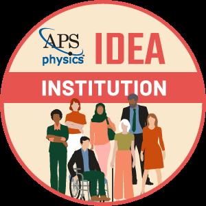 APS IDEA Institution Badge