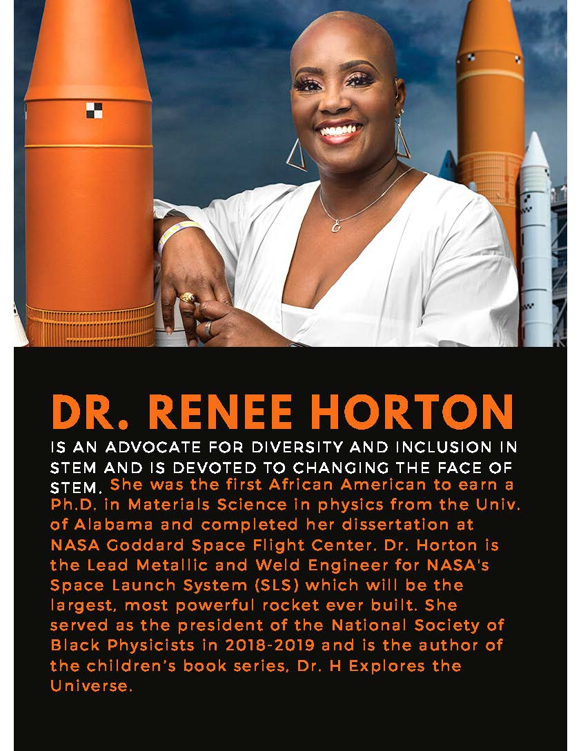 Renee Horton is an advocate for diversity and inclusion in STEM an is devoted to changing the face of STEM