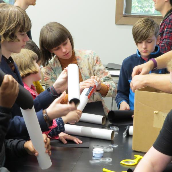 Building homemade telescopes