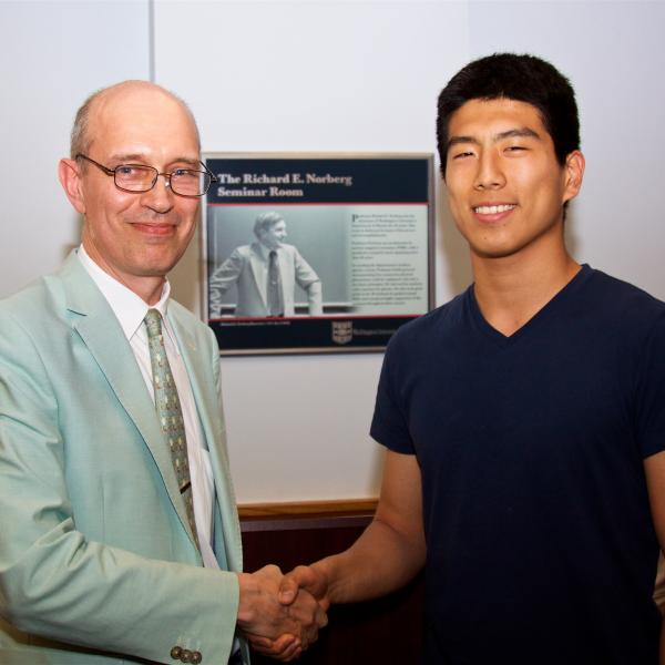 Royce Dong received the Goldwater Scholarship