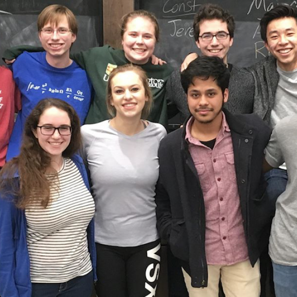Physics Students Win National Recognition