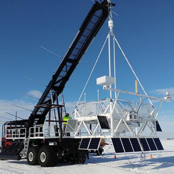 WashU physicists launch cosmic ray telescope from Antarctica