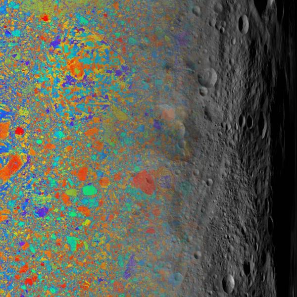 Specks of stardust