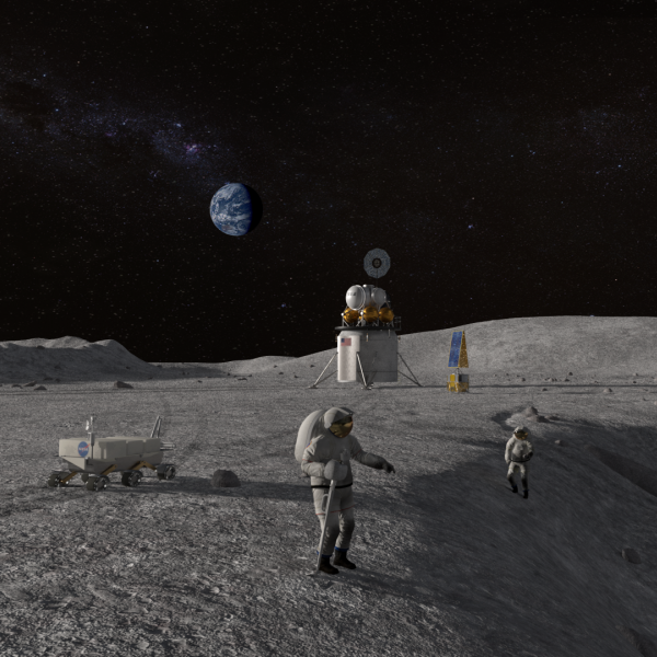 Wash U Scientists Study Moon Ice To Help Astronauts Explore Solar System
