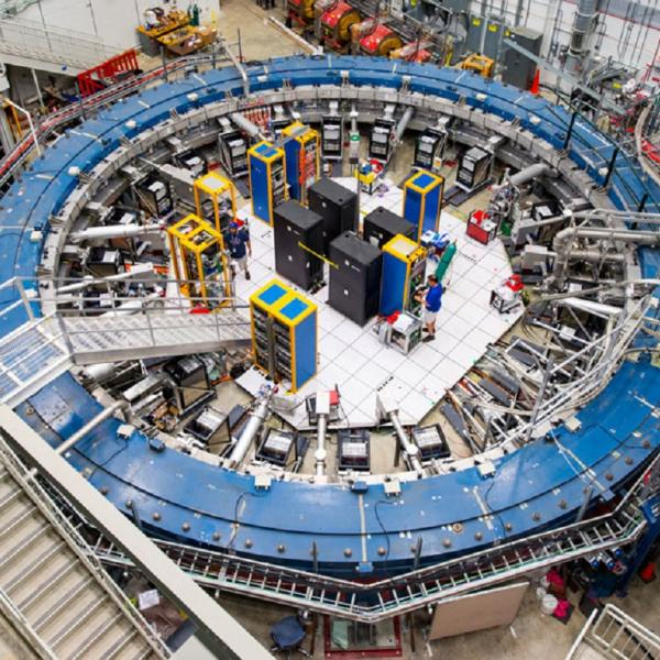 Muon magnetism could hint at a breakdown of physics' standard model