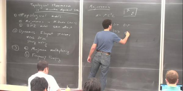Physics colloquium with Gil Refael on Topological Physics at the Light-Matter Interface