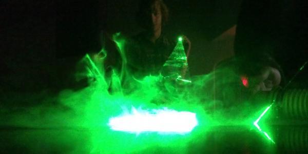 Physics Family Fun Day: Light Physics