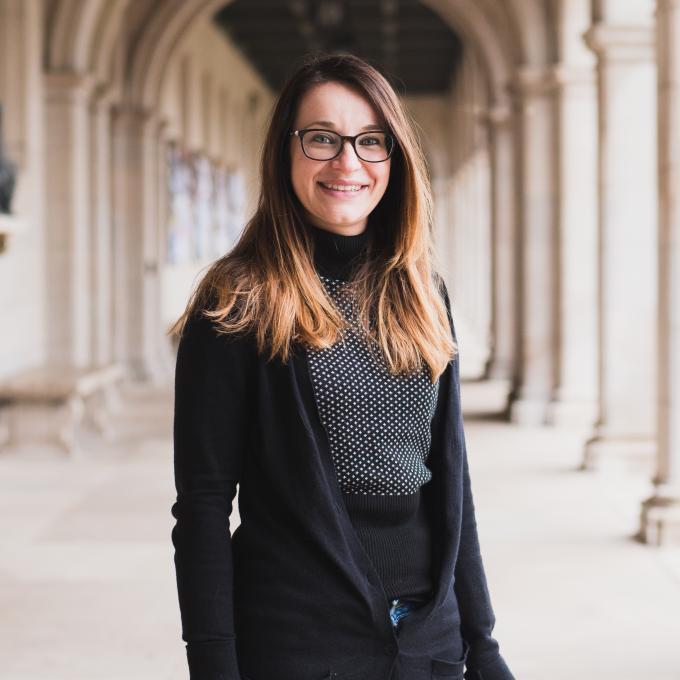 Headshot of Maria Piarulli