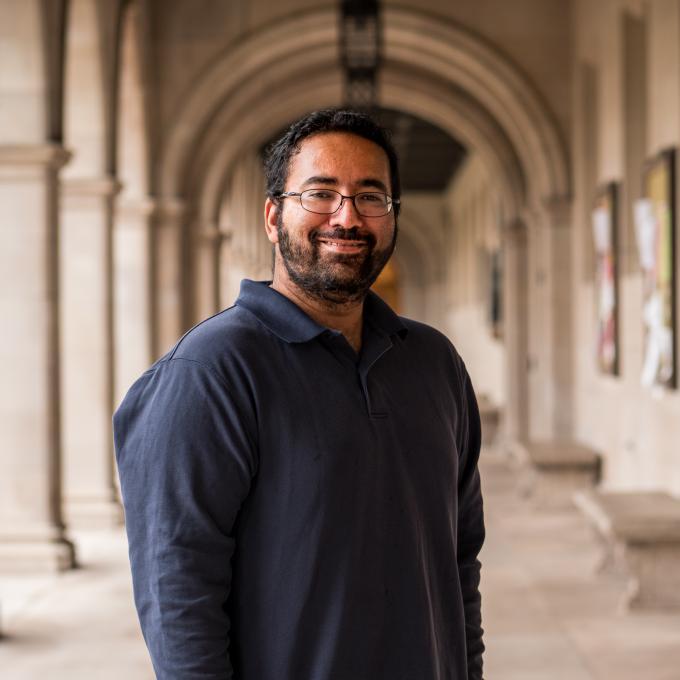 Headshot of Shankar  Mukherji